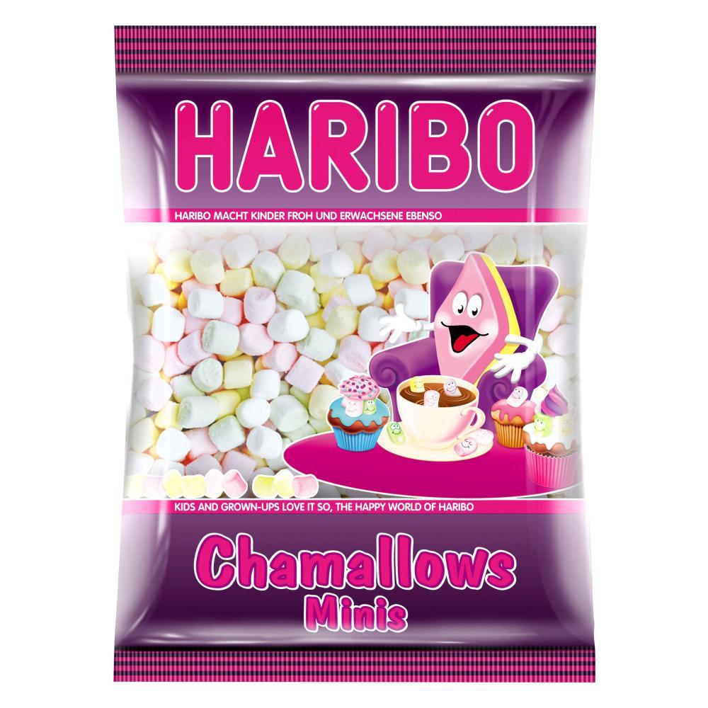 Haribo Chamallows Minis Schaumzucker Marshmallows Mausespeck 200 g