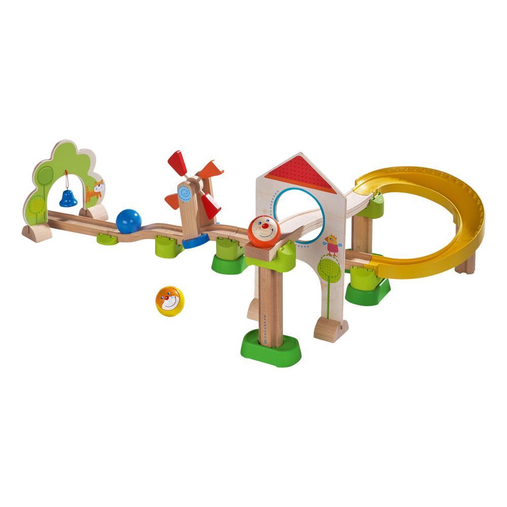 HABA-SFERA-ferroviario-kullerbu-spirale-in-dissolvenza-ferrovia-25-pezzi-MURMEL-treno-ferrovia-SFERA