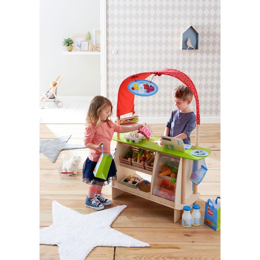 HABA-Kaufladen Einkaufsglück Buche Kunststoff Sperrholz Polyester 302087 302087 302087 6cdefd