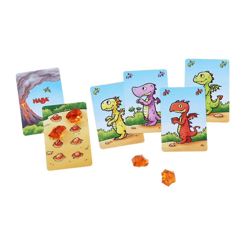 HABA-Drago-Tuono-dente-quartetto-Bambini-Giochi-Bambini-Giochi-Gioco-di-Carte-GIOCATTOLI miniatura 2