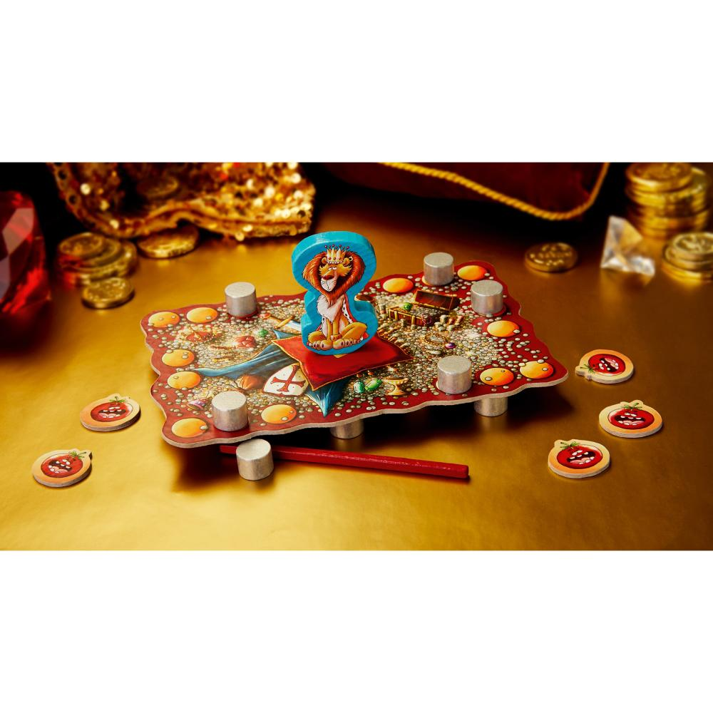 HABA-kippelkonig-bambini-giochi-gioco-da-ragazzi-destrezza-gioco-giocattolo miniatura 3