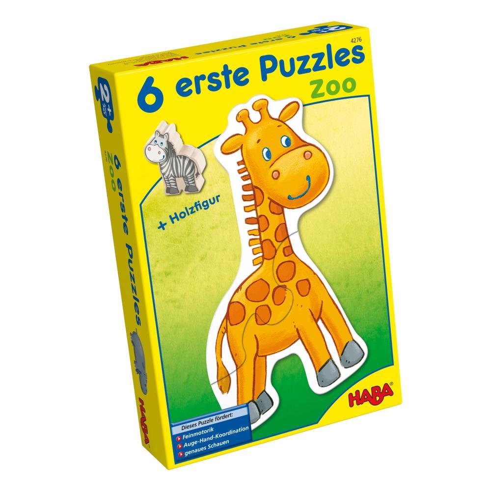 Haba-Zoo-6-Primi-Puzzle-Giochi-Giocattoli-per-i-Bambini-13-Pezzi-4276