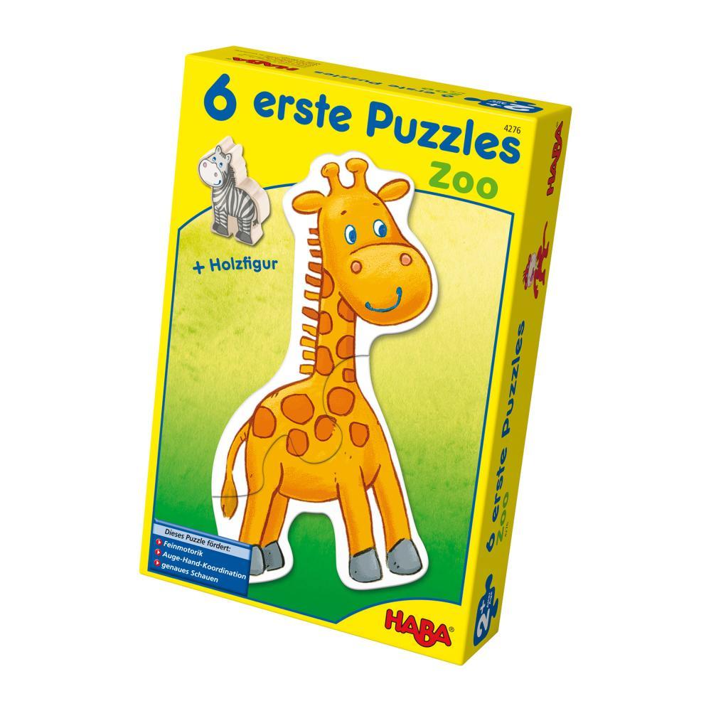 Haba-Zoo-6-Primi-Puzzle-Giochi-Giocattoli-per-i-Bambini-13-Pezzi-4276 miniatura 2