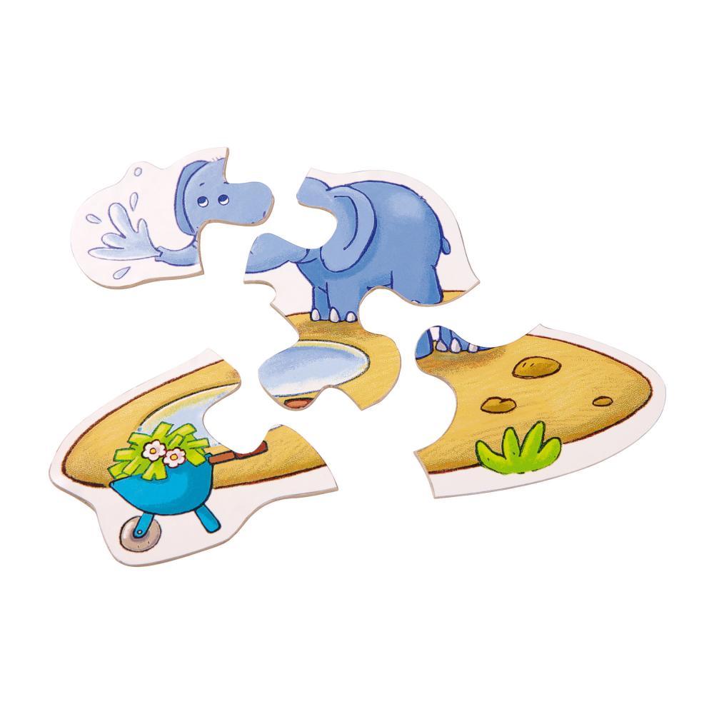 Haba-Zoo-6-Primi-Puzzle-Giochi-Giocattoli-per-i-Bambini-13-Pezzi-4276 miniatura 3