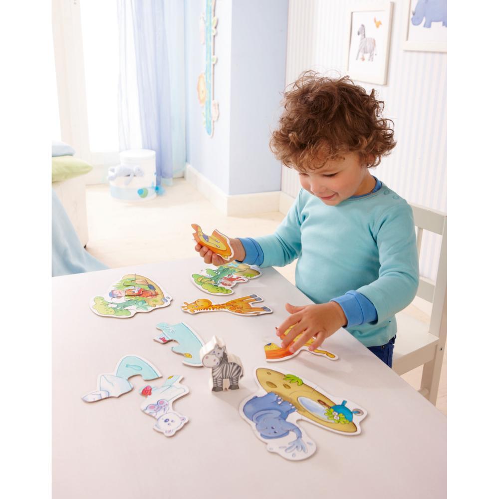 Haba-Zoo-6-Primi-Puzzle-Giochi-Giocattoli-per-i-Bambini-13-Pezzi-4276 miniatura 5