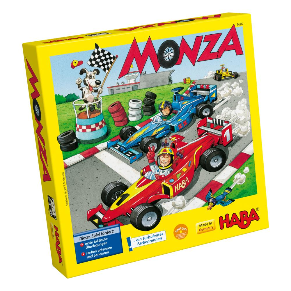 HABA Monza Dice Game Race Simple Rules for Children Toy 6 Wo