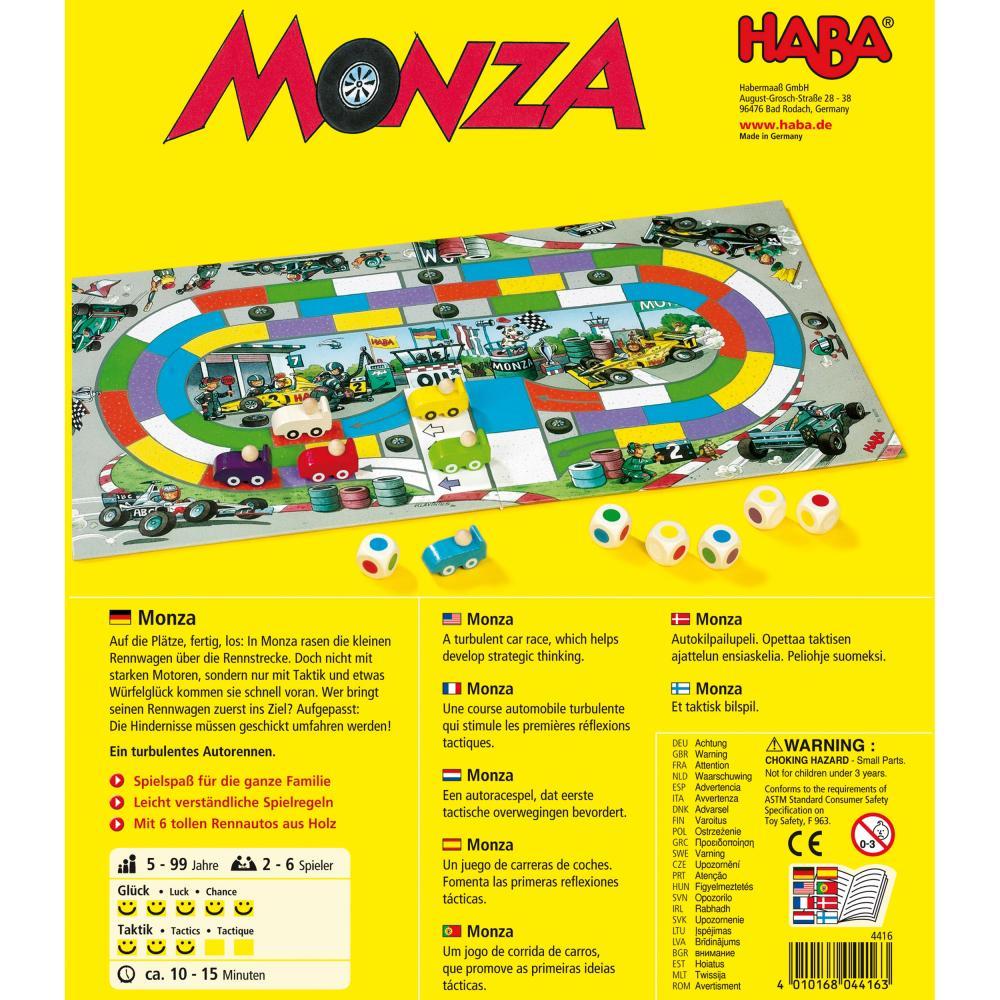HABA-Monza-Wuerfelspiel-Laufspiel-Kinderspiel-Wuerfel-Spiel-Spiele-4416 Indexbild 4