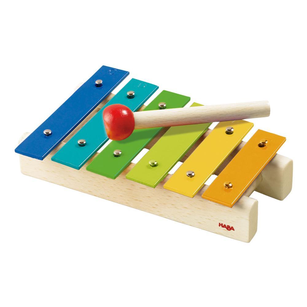 HABA metallophon BAMBINI XILOFONO campane strumento gioco giocattolo 5990