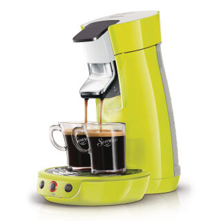 philips senseo viva caf hd7825 10 coffee pod system sizzling lime at about shop. Black Bedroom Furniture Sets. Home Design Ideas