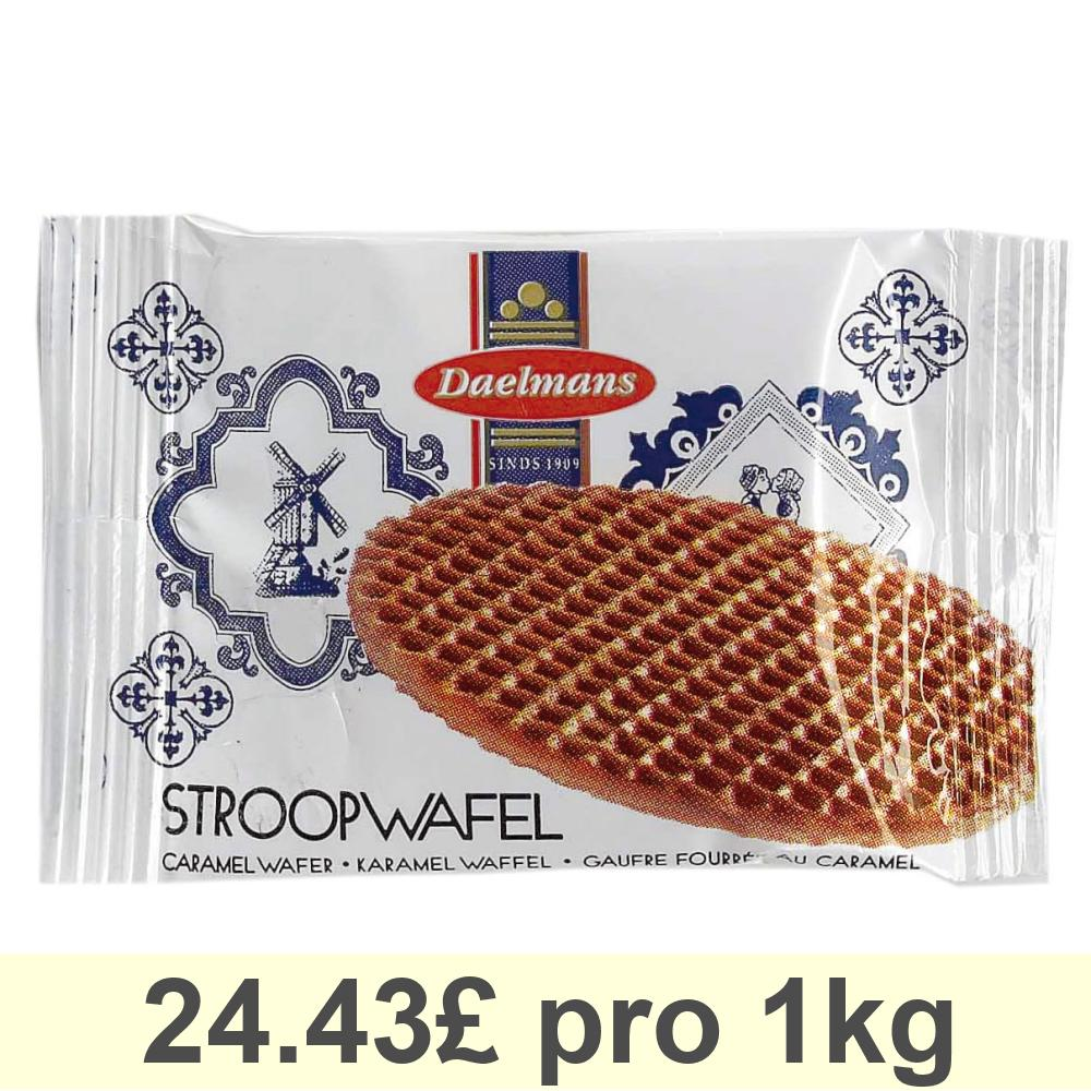 Daelmans-Stroopwafel-Mini-Caramel-Waffles-Cookies-Biscuits-200-Pieces thumbnail 1