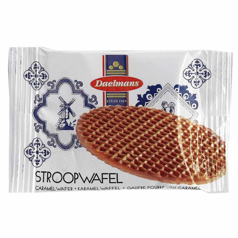 Daelmans-Stroopwafel-Mini-Caramel-Waffles-Cookies-Biscuits-200-Pieces thumbnail 2