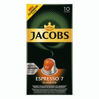 Jacobs Espresso 7 Classico Kaffeekapseln Nespresso Kompatibel