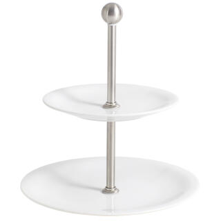 Kahla Update Etagere Mini Two Parts Serving Stand Porcelain