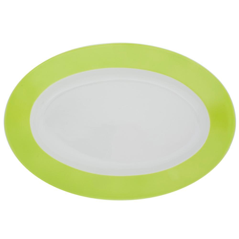 Kahla-Pronto-Colore-Vassoio-Ovale-Piatto-Porcellana-Limone-32-cm-573306A72456C