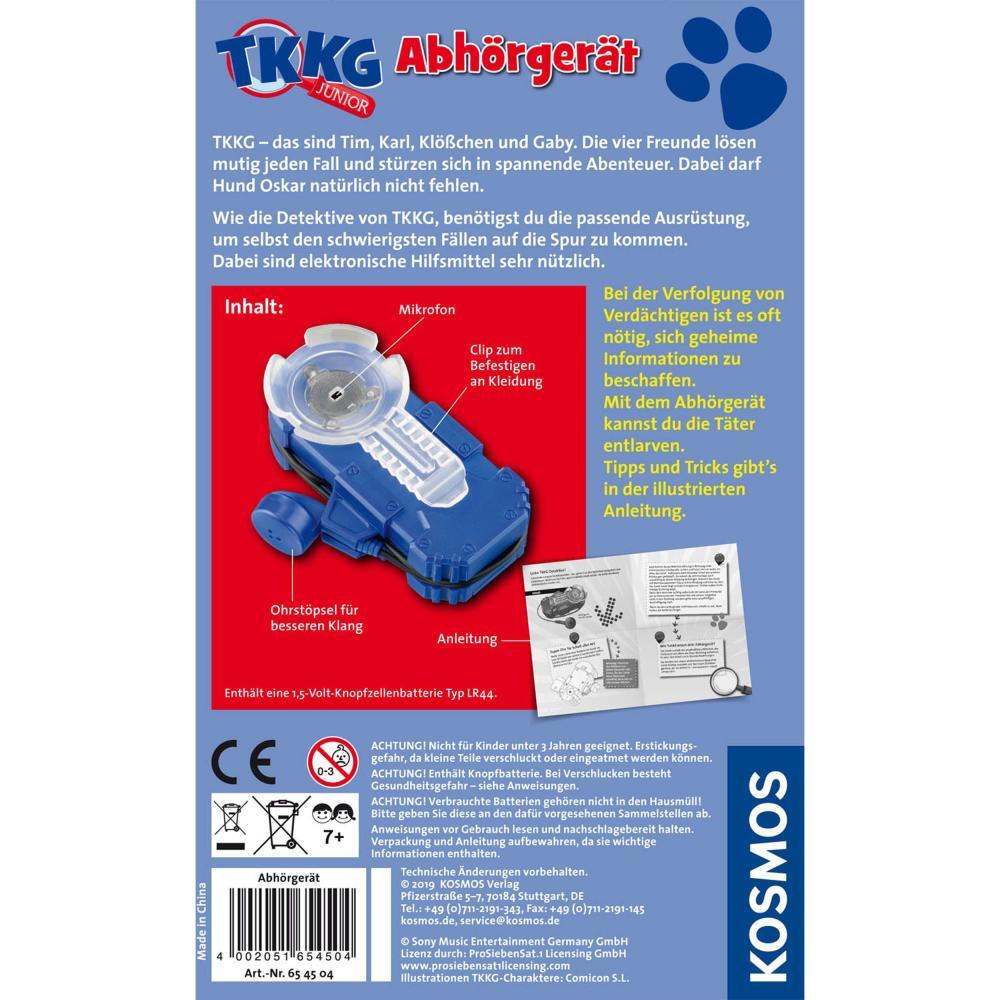 KOSMOS-TKKG-Detektivset-Alarmanlage-Detektivtool-Gratis-Abhoergeraet-3-tlg Indexbild 3