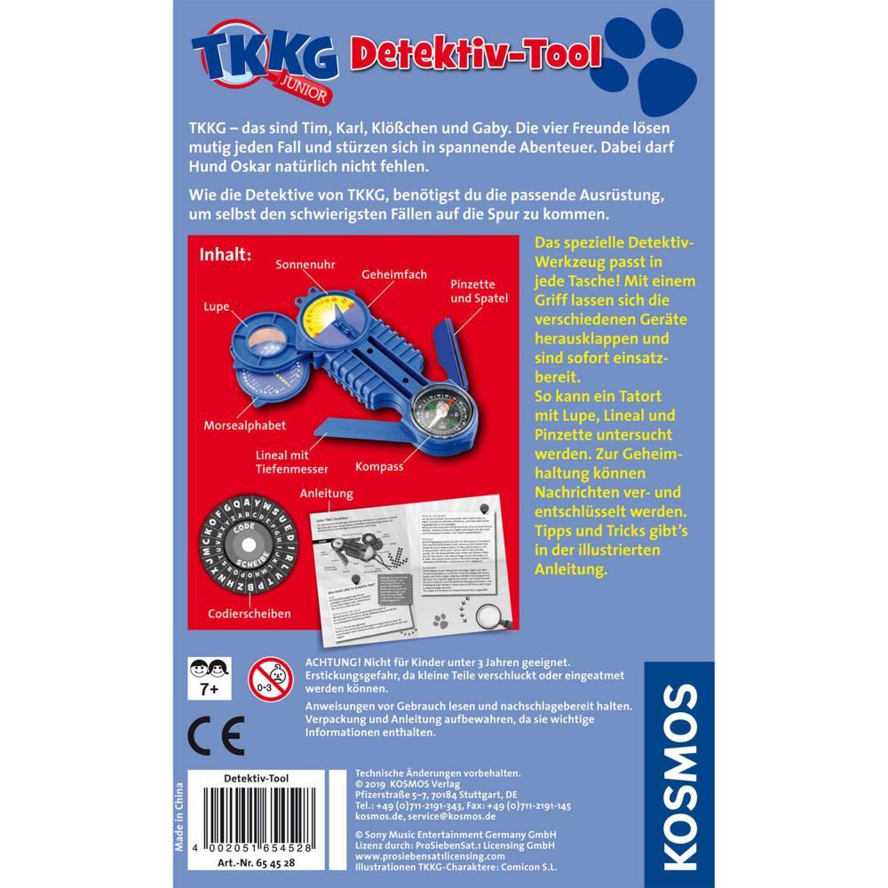 KOSMOS-TKKG-Detektivset-Alarmanlage-Detektivtool-Gratis-Abhoergeraet-3-tlg Indexbild 9