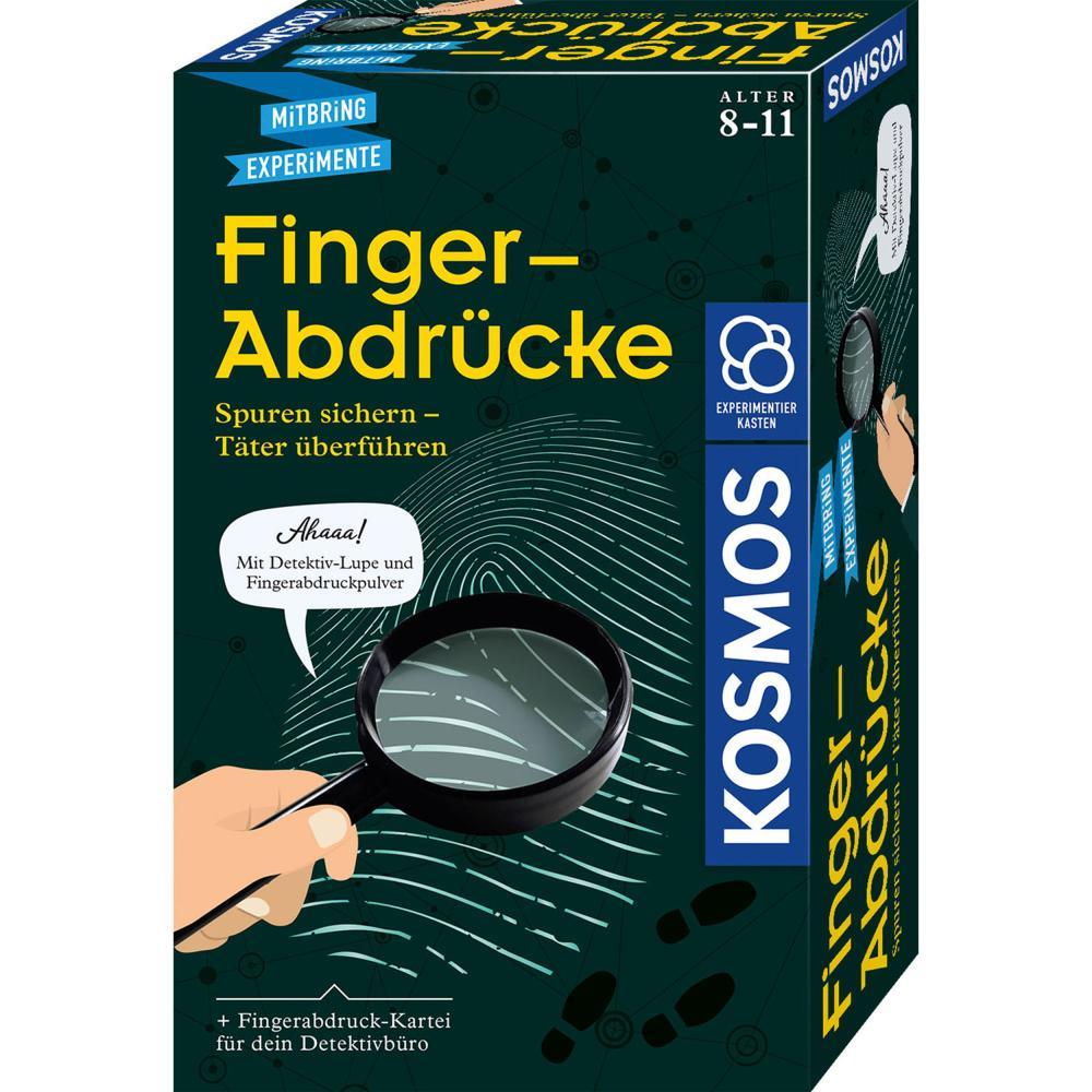 KOSMOS Finger-Abdrücke Detektiv-Experimente Experimentierkasten ab 8 Jahren