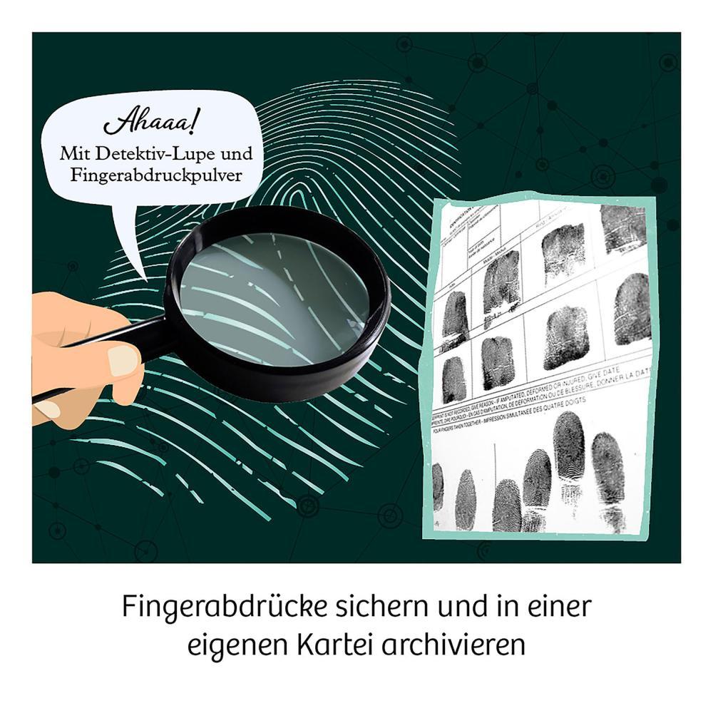 Indexbild 4 - KOSMOS Finger-Abdrücke Detektiv-Experimente Experimentierkasten ab 8 Jahren