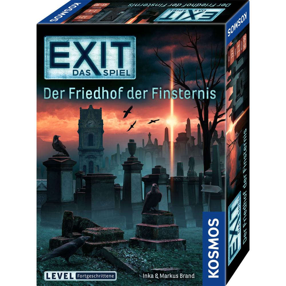 Vorverkauf KOSMOS EXIT Das Spiel Der Friedhof der Finsternis Escape Game Spiel