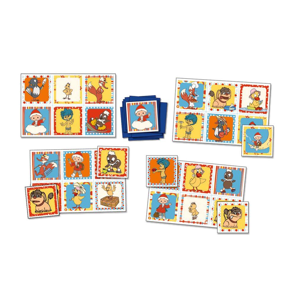 Indexbild 2 - KOSMOS Kinderspiele Unser Sandmännchen Karten Spiel Lotto-Spiel  ab 3 J. 710781