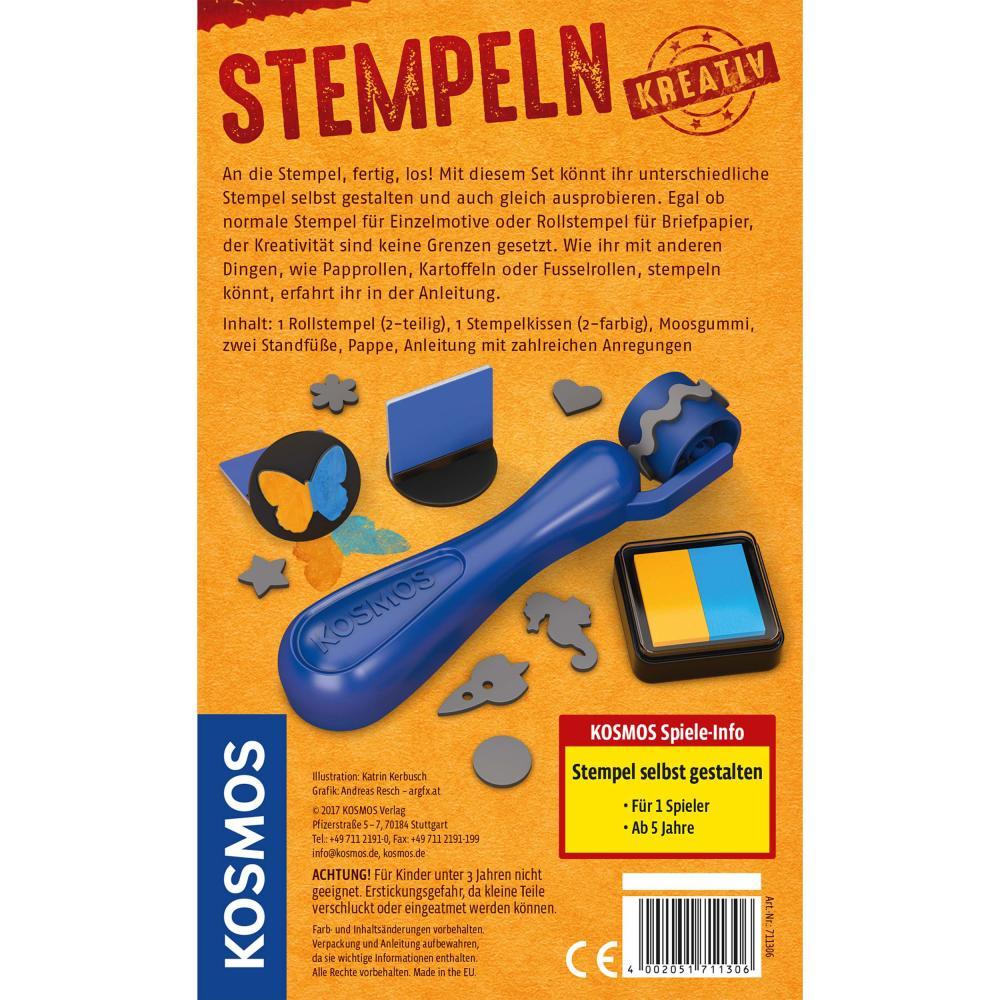 Indexbild 2 - KOSMOS Stempeln Kreativ Stempel selbst gestalten Basteln ab 5 Jahren 711306
