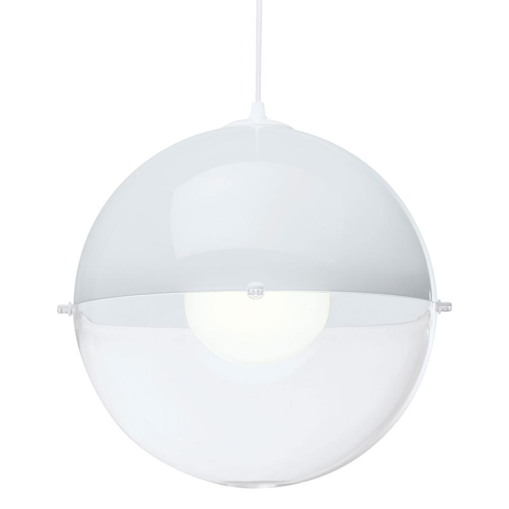 Koziol Hanglamp Orion.Details About Koziol Orion Pendant Suspension Ceiling Lamp Solid White Transparent Clear