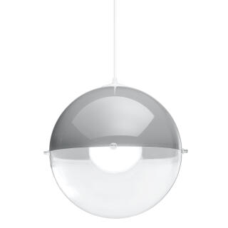 Koziol Hanglamp Orion.Koziol Orion Hanging Light Pendant Luminaire Suspension Lamp Ceiling Lamp Cool Grey H 30 5 Cm 1911217 At About Tea De Shop