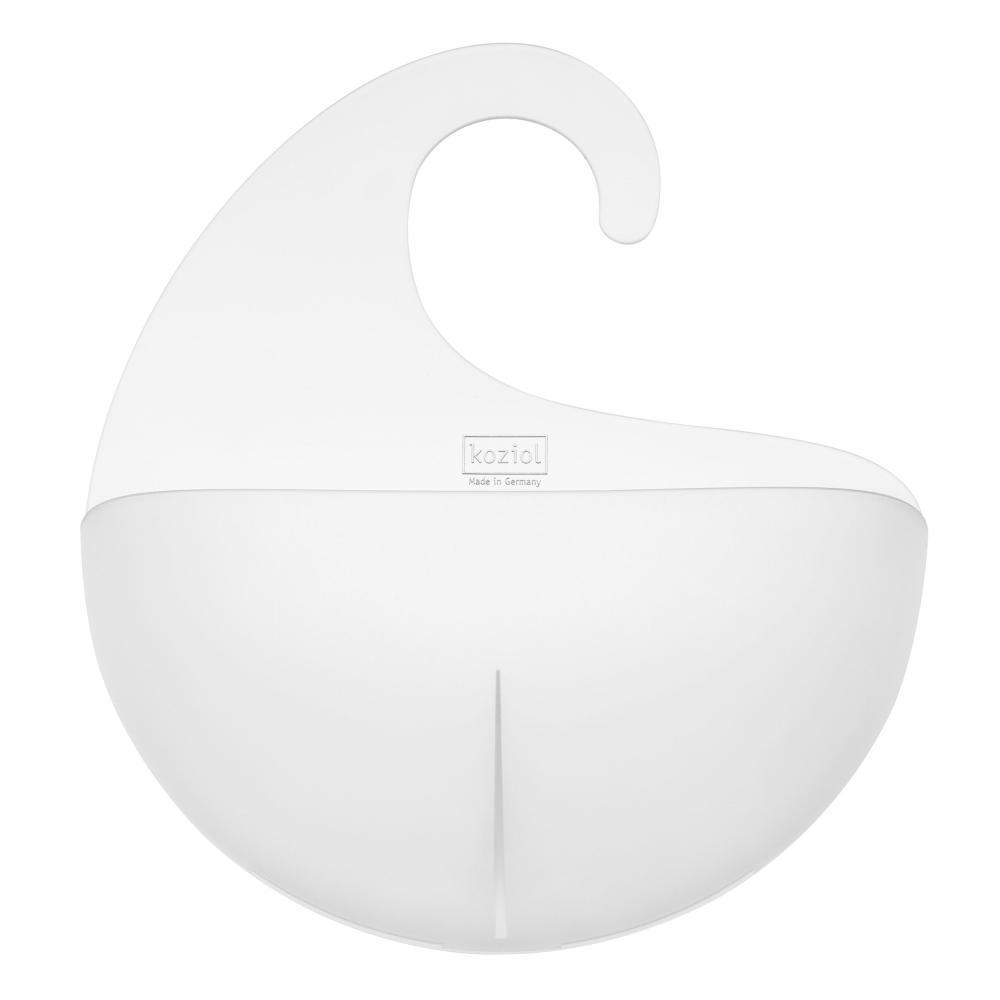 Koziol-Surf-XL-Utensilo-mit-Henkel-Aufbewahrungseinheit-Koerbchen-Transp-Klar Indexbild 2