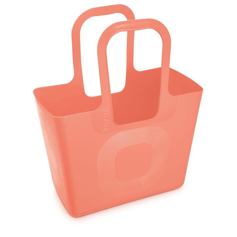 Koziol-Tasche-XL-Tasche-Einkaufstasche-Tragetasche-Kunststoff-Soft-Peach-54-cm