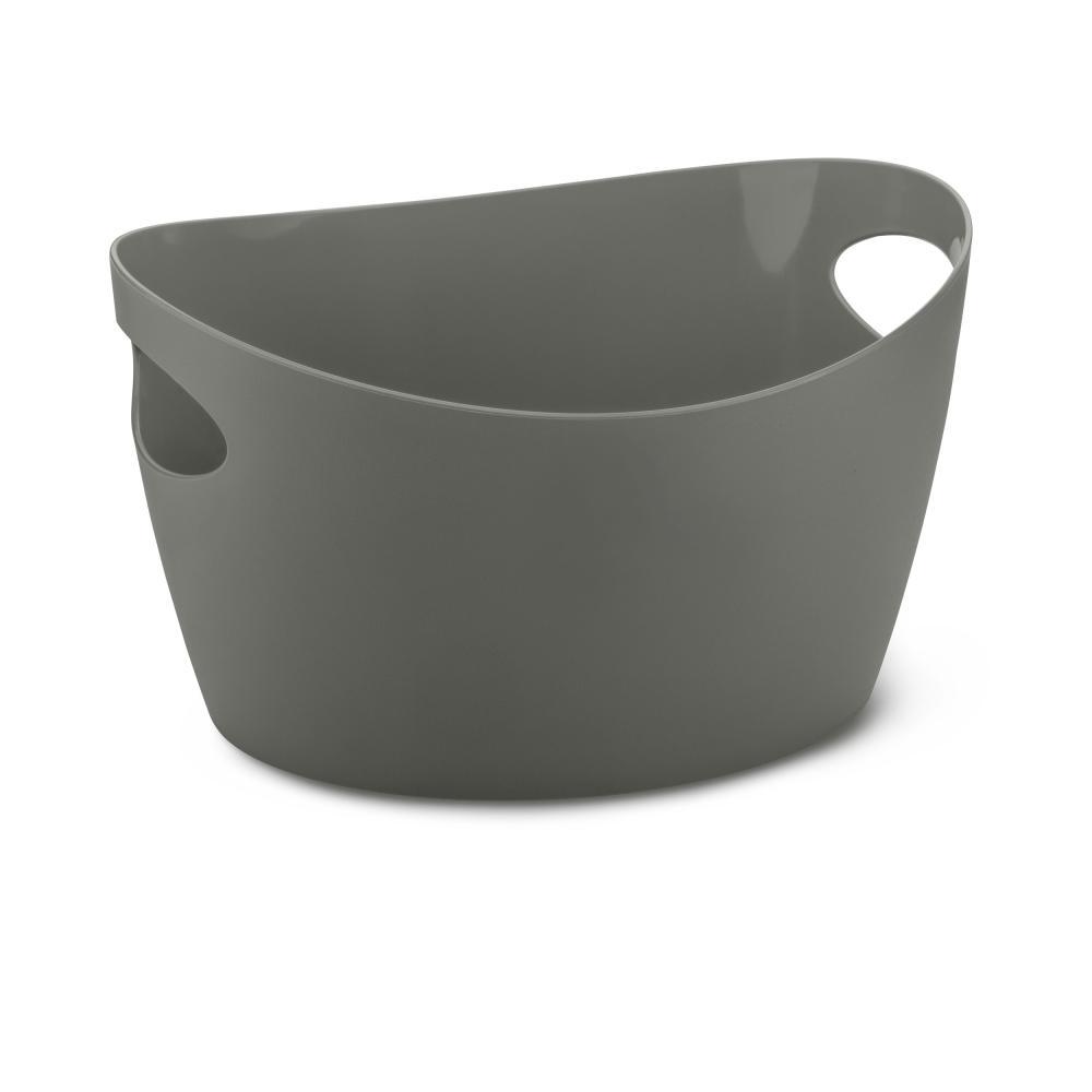 Koziol bottichelli s utensilo canastilla retención cesto para almacenar objetos Deep Grey