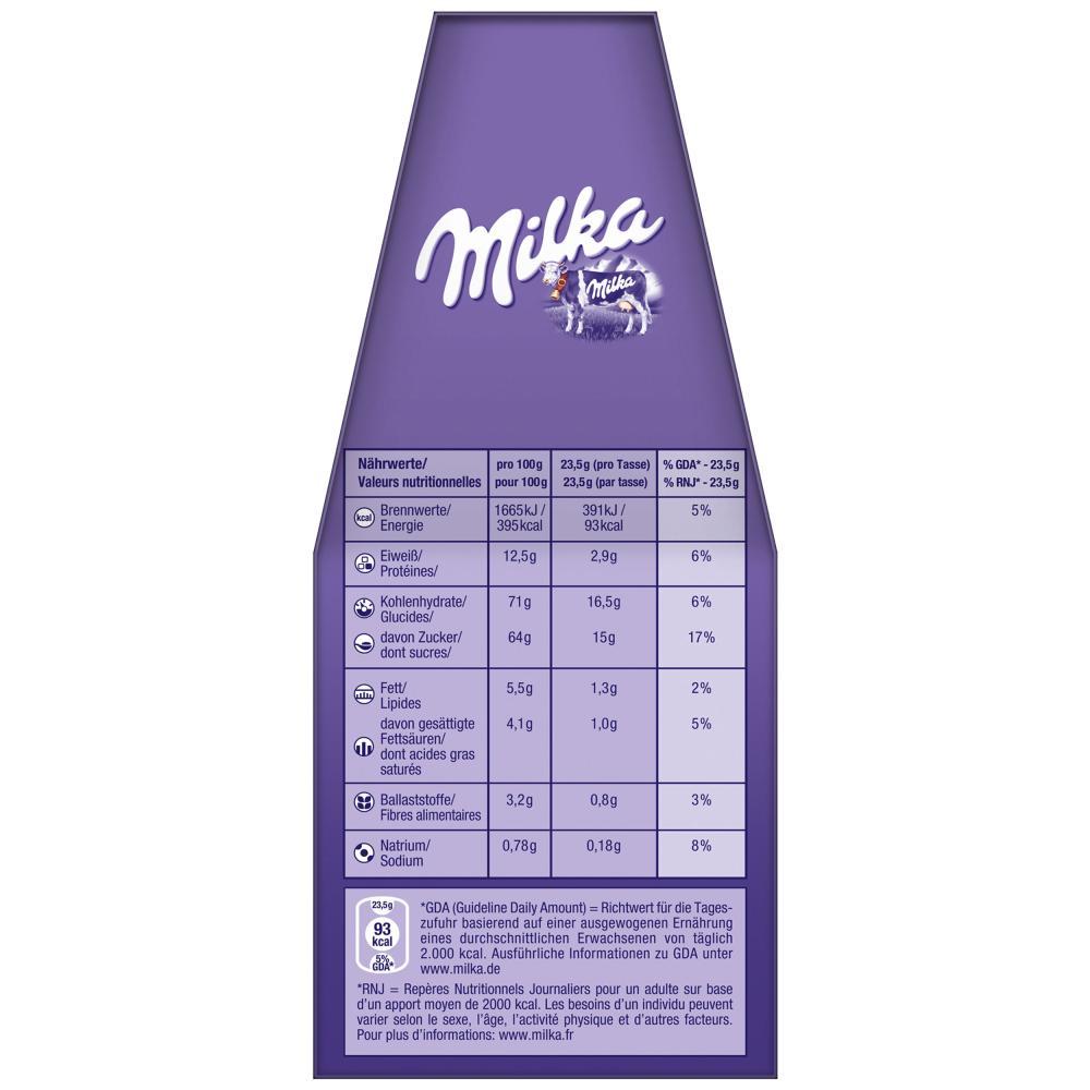Milka-per-Macchine-a-Cialde-Cioccolata-Calda-Caffe-2-x-7-Pads-7-Sticks miniatura 4