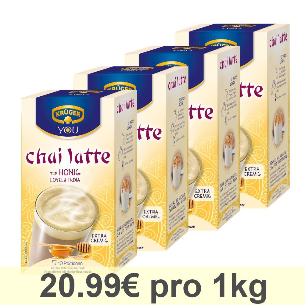 Kruger-Chai-Latte-Lovely-India-Miel-Boisson-Douce-a-Base-de-Lait-4-x-10-Sachets