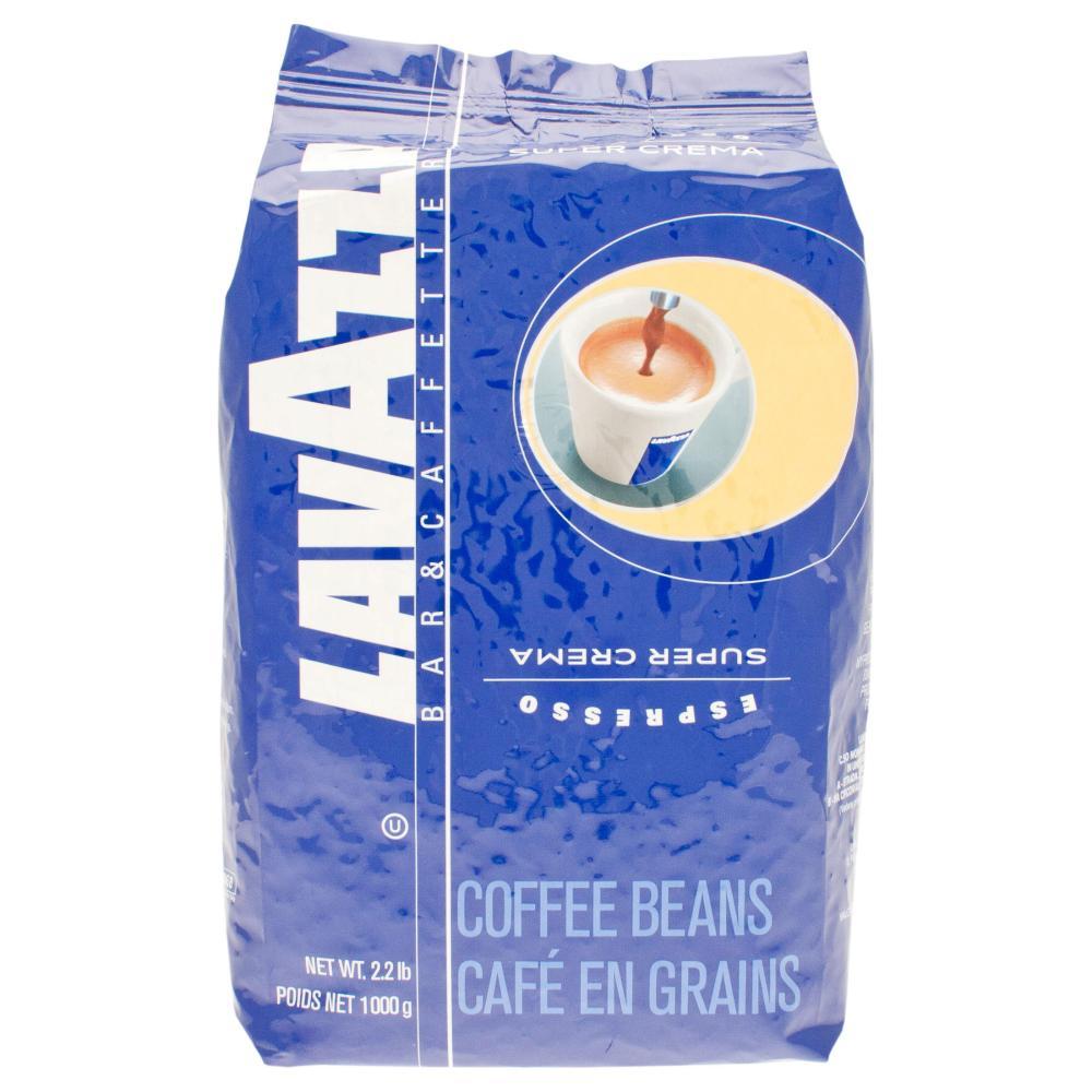 Lavazza Espresso Super Crema, Café en Grains, 1000g
