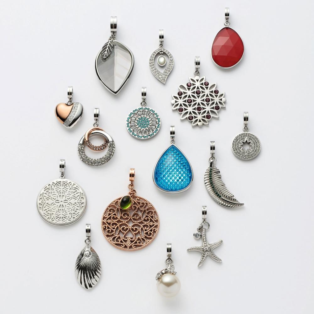 Leonardo Jewels Milva darlins remolque remolque cadenas de acero inoxidable vaso rojo 4.2 cm