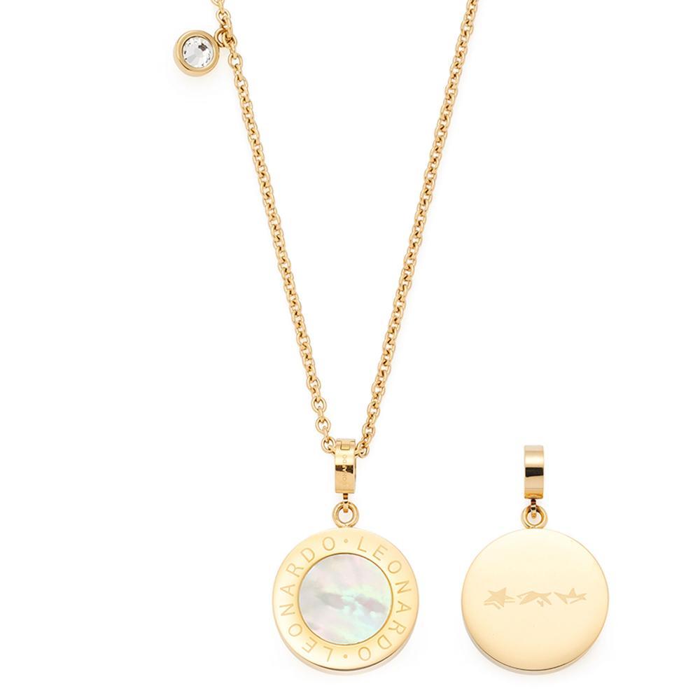 Leonardo Jewels collar Mauritia cadenita collar joyas edelst concha nacar