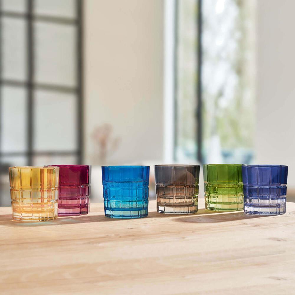 Leonardo Trinkglas SPIRITII Trinkgefäß Wasserglas Kalk-Natron Glas Violett 170ml