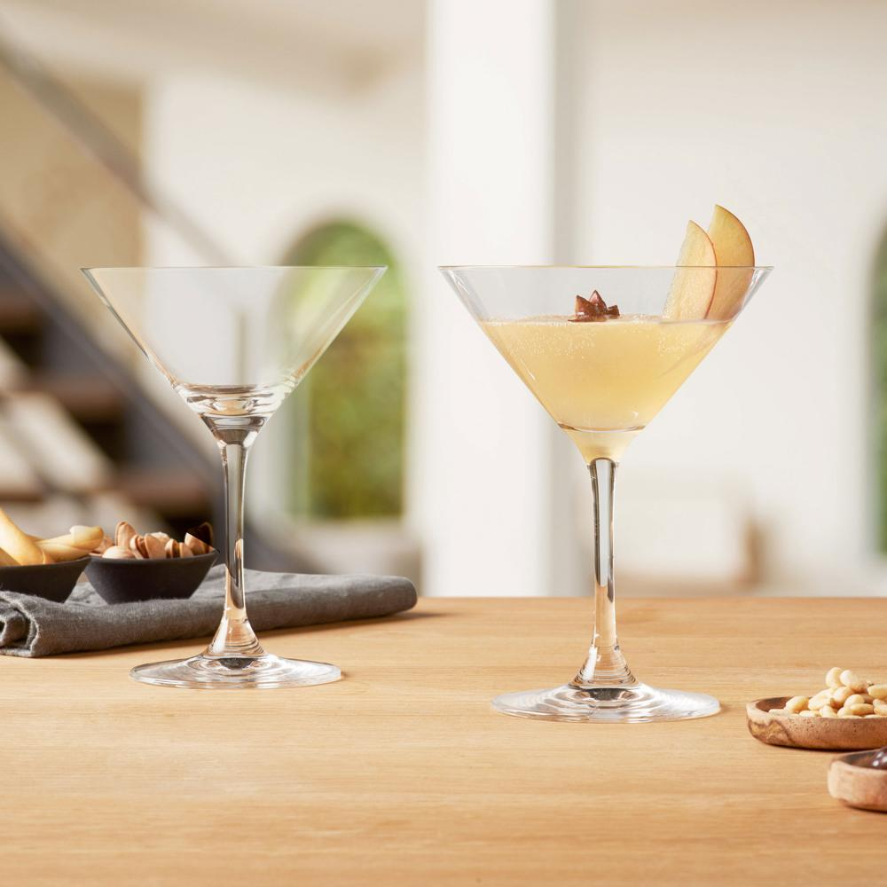 Leonardo Gingläser GIN 2er-Set Schnapsglas Trinkglas Kristallglas Klar 110 ml