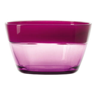 Leonardo Mio Bowl, Glass Bowl, Dish Stackable, Shock Proof, 14 cm, Pink,  18926 at About-Tea de Shop