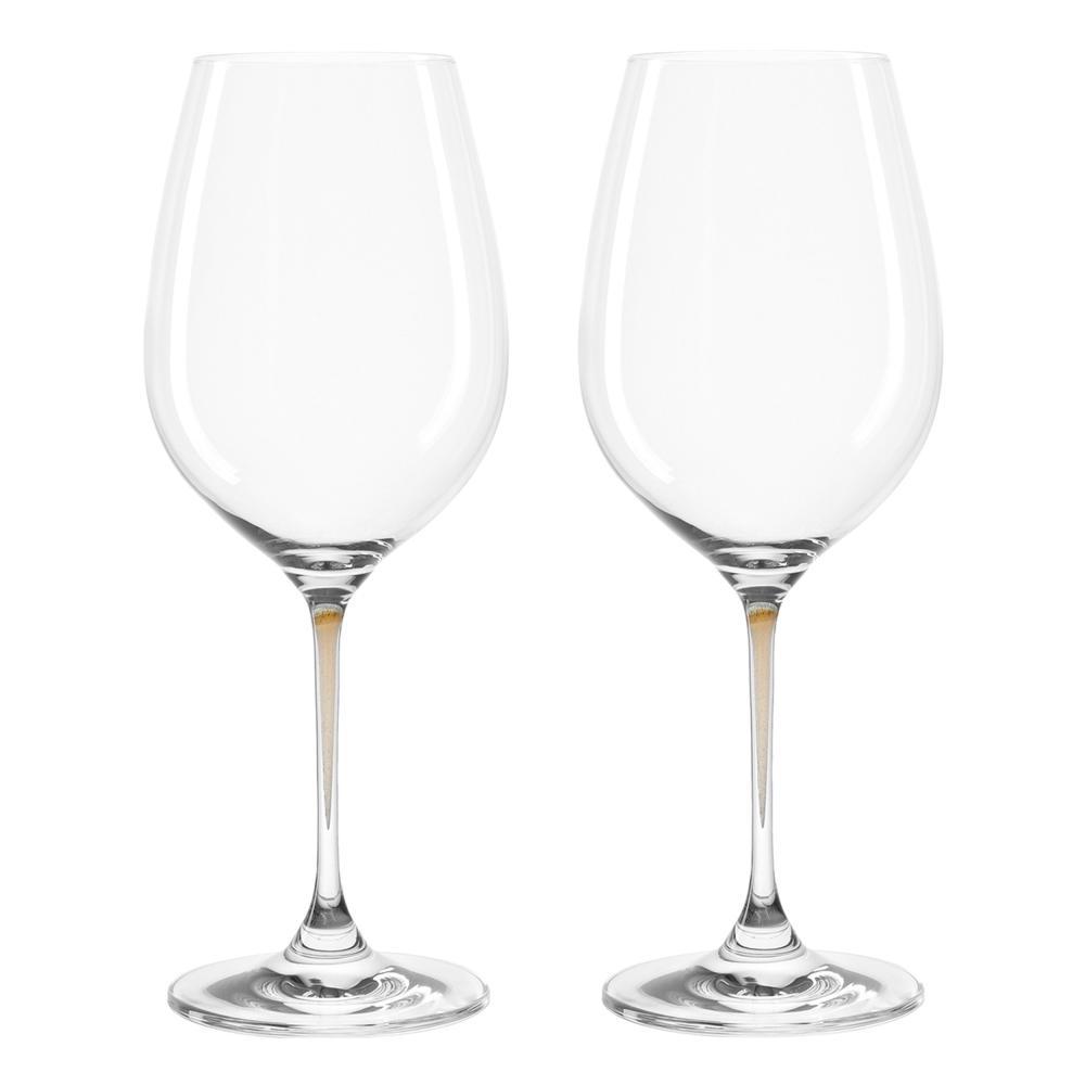 Abile Leonardo La Perla Bicchieri Di Vino-set, 2er Set, Vino Vetro, Vetro Vino Rosso, Vino Bianco Vetro-, 2er Set, Weinglas, Rotweinglas, Weißweinglas It-it