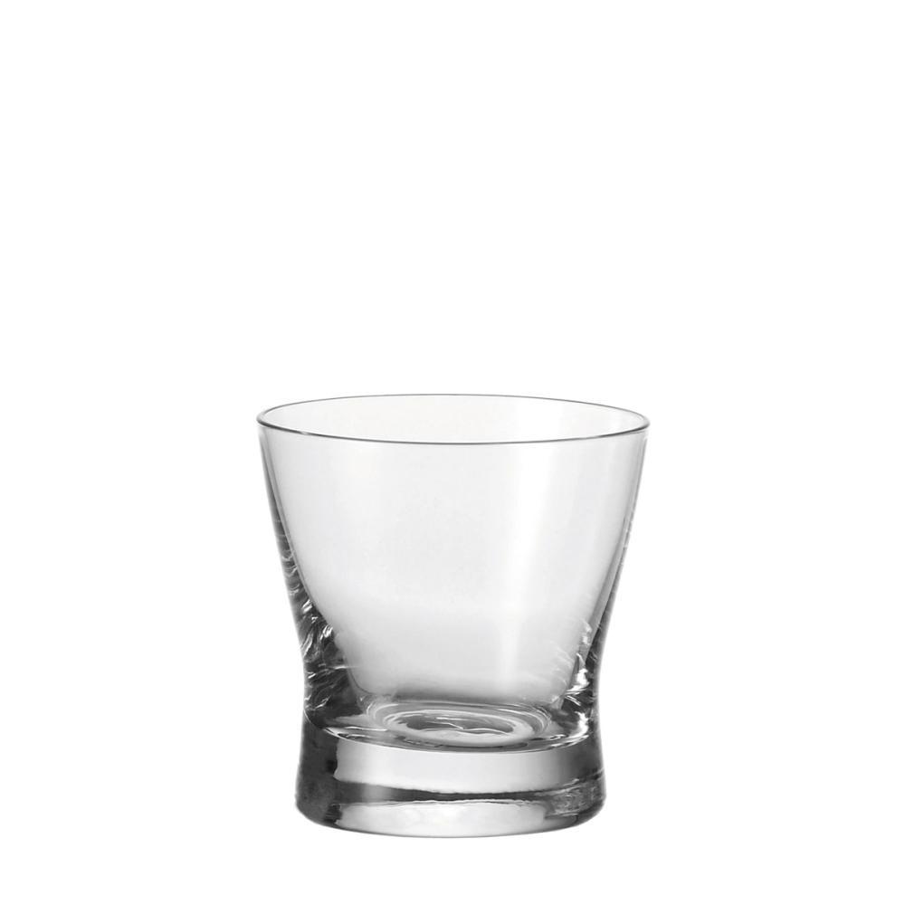 Leonardo Tazio Whiskeybecher 6er Set Whiskyglas Tumbler Eisboden Glas 150 ml