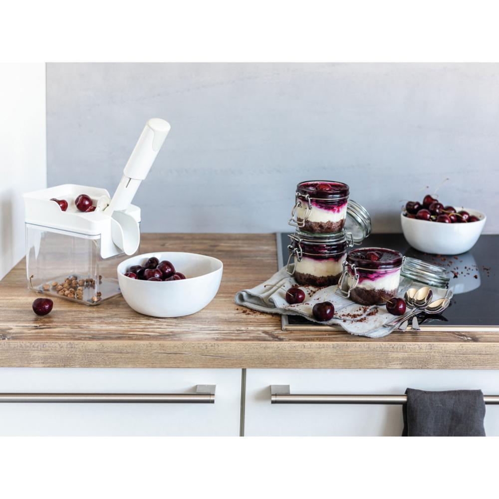 Leifheit-Denoyauteur-de-Cerises-Fruits-Professionnel-Cherrymat-Blanc-37200 miniature 3