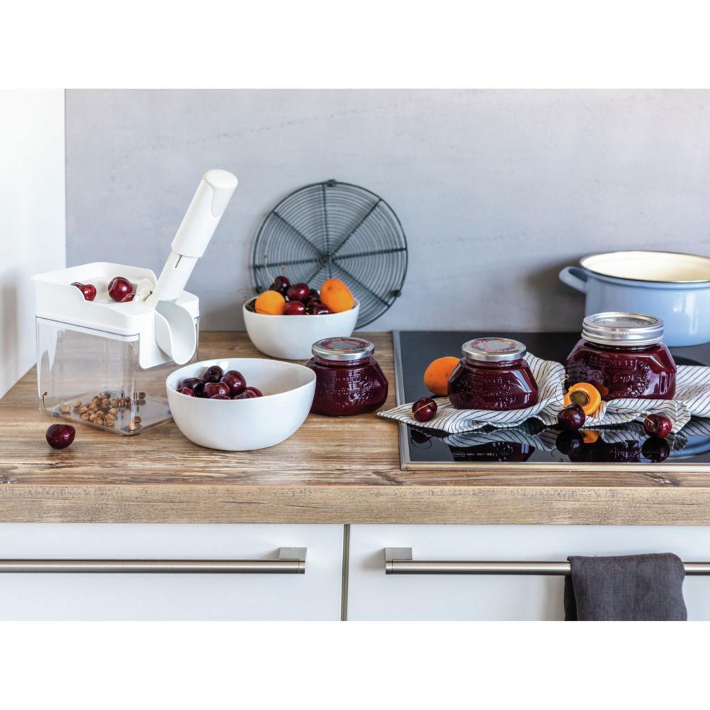 Leifheit-Denoyauteur-de-Cerises-Fruits-Professionnel-Cherrymat-Blanc-37200 miniature 5