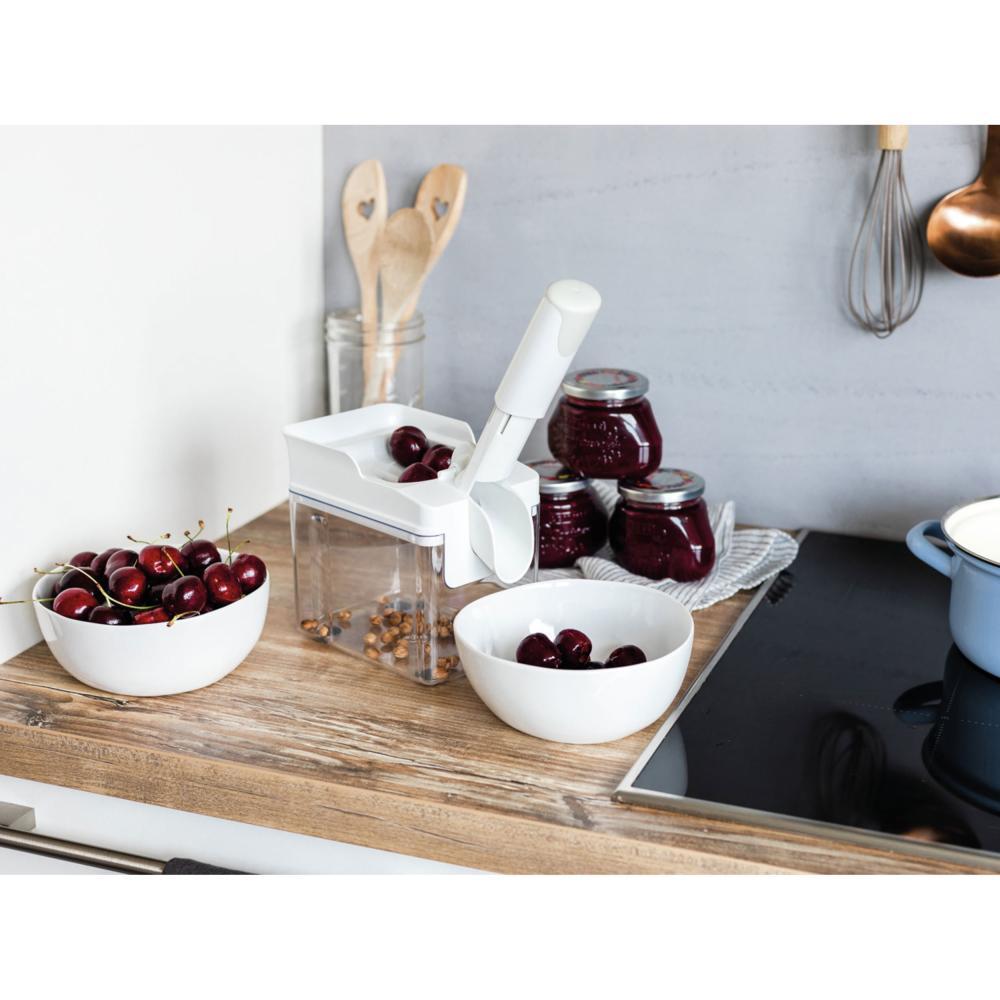 Leifheit-Denoyauteur-de-Cerises-Fruits-Professionnel-Cherrymat-Blanc-37200 miniature 6