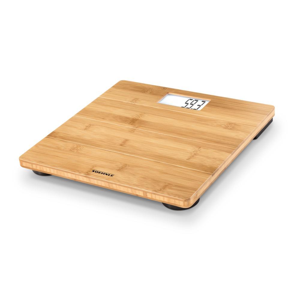 Soehnle PWD Bamboo Digital Person Scale Bodyscale Body Scale