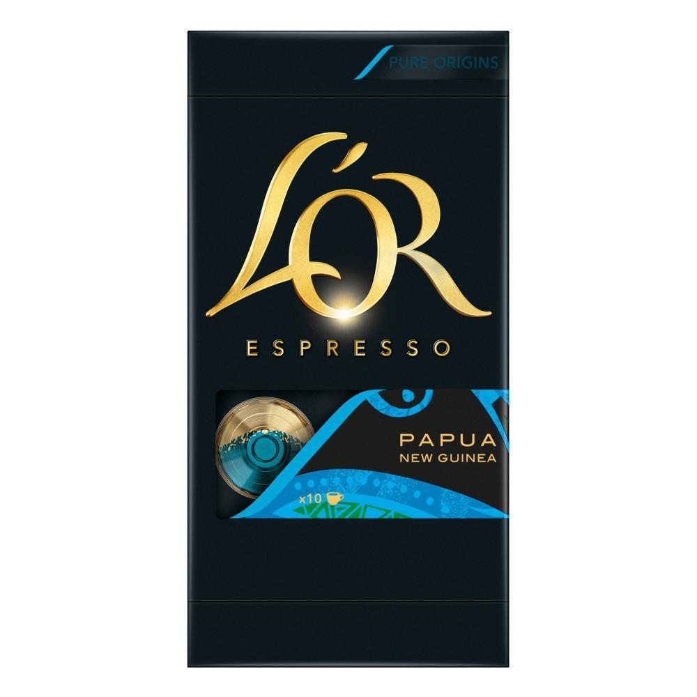 LOR-Espresso-Papua-Kaffeekapsel-Stark-Nespresso-Kompatibel-100-Kaffee-Kapseln Indexbild 3