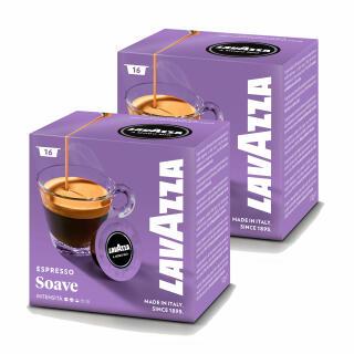 lavazza a modo mio delicati soavemente coffee capsules set of 2 2 x 16 capsules at about tea. Black Bedroom Furniture Sets. Home Design Ideas
