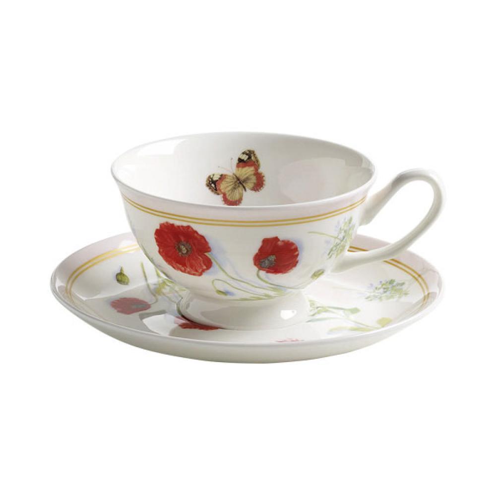 Maxwell-amp-Williams-taza-de-porcelana-amp-platillo-cafe-Butterfly-Garden-rosa-210ml