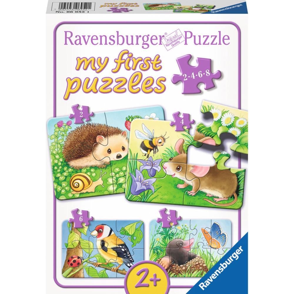 Ravensburger-Puzzle-Suesse-Gartenbewohner-My-First-Puzzles-Kinderpuzzle-8-Teile