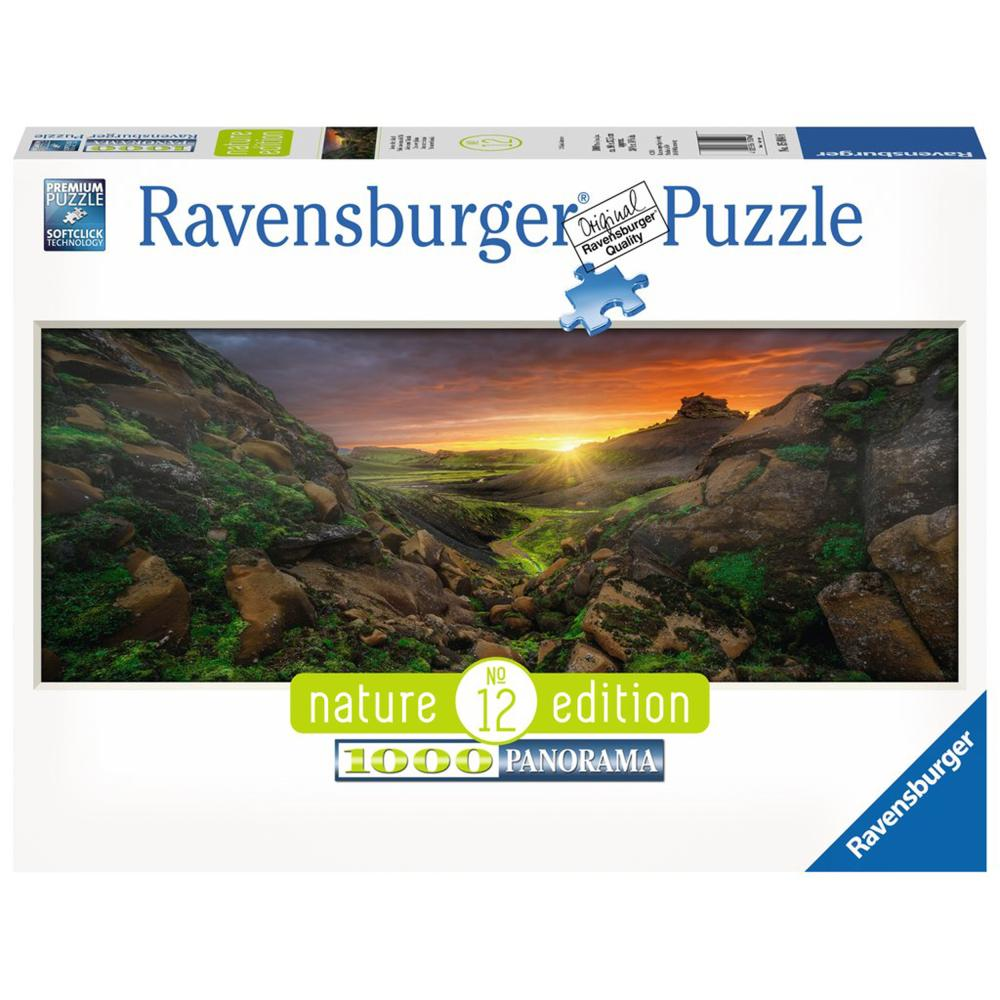 RAVENSBURGER Puzzle sole tramite Island Nature Edition adulti Panorama 1000 T