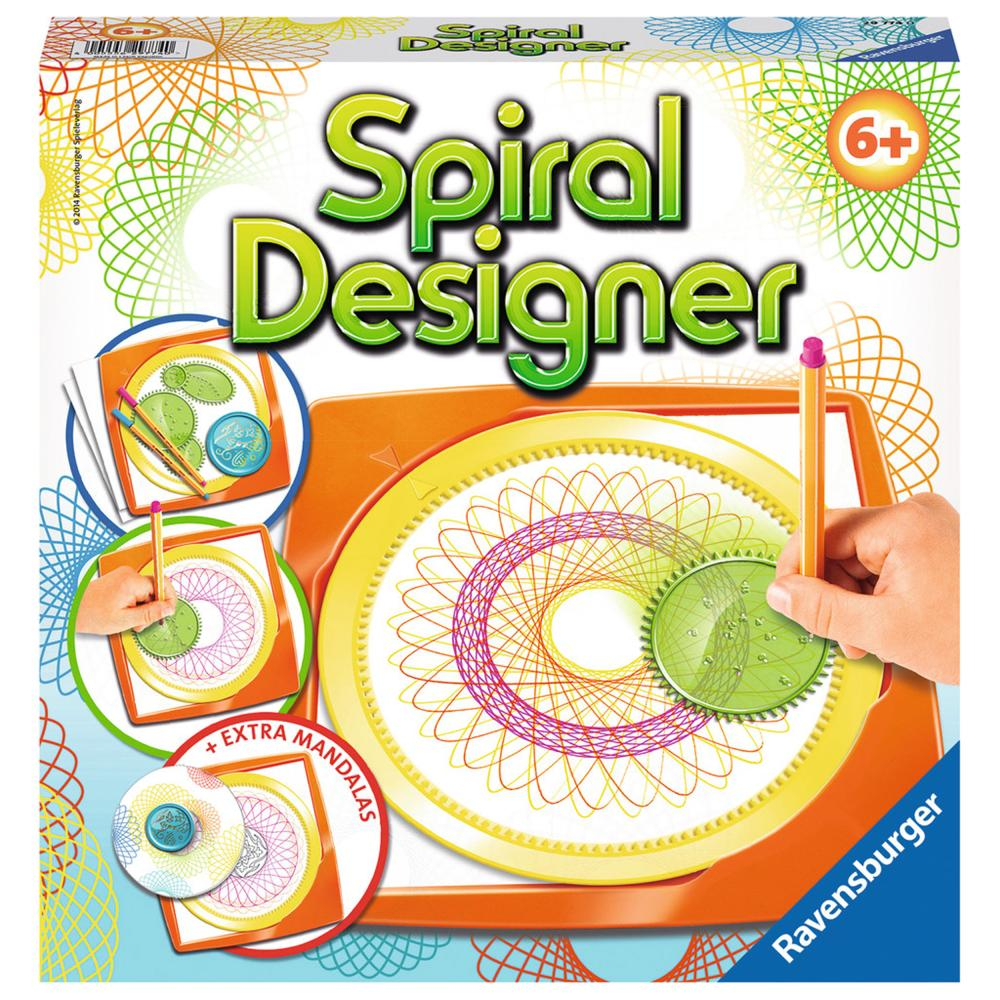 Ravensburger Spiral-Designer Midi Spiral Designer Mal Set Spiralbilder Zeichnen
